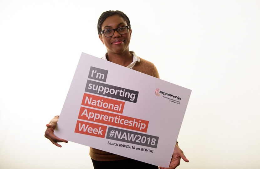 Kemi supporting National Apprenticeship Week