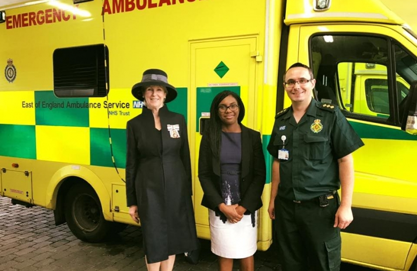 Kemi with Ambulance