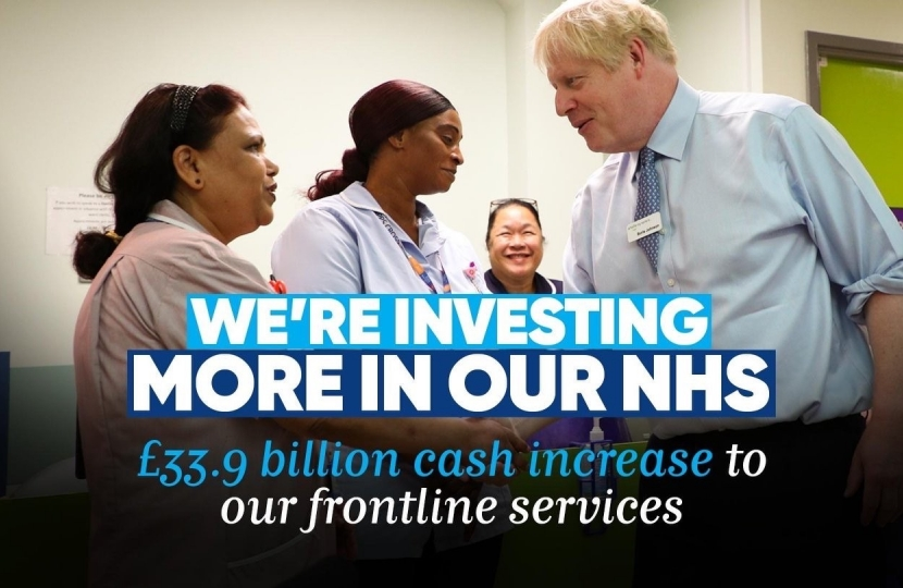 We're investing more in our NHS